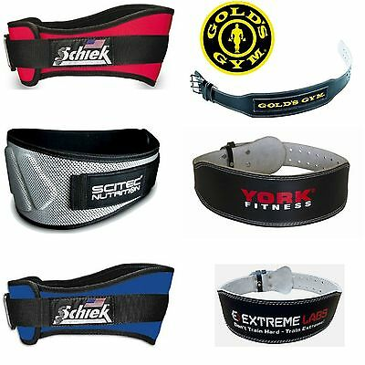 Weight Lifting Lumbar Support Strength Training Belt Schiek Myprotein Scitech