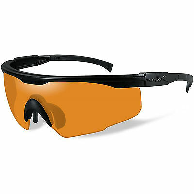 Wiley X PT-1 Military Tactical Shooting Sunglasses Glasses PT-1L Light Rust Lens