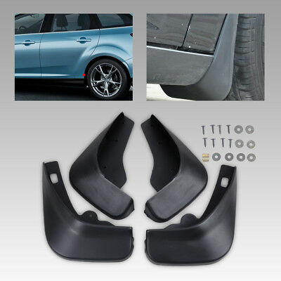 MUD FLAPS FLAP MUDGUARD SPLASH GUARDS Brand fit Ford Focus MK II 2005-2010