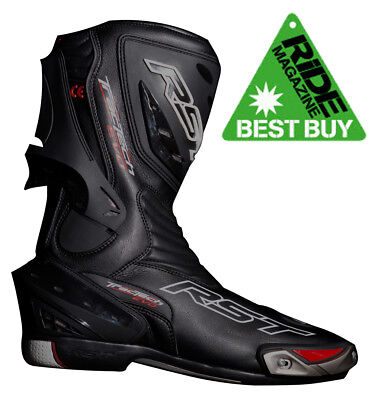 Rst Tractech Evo Ce Approved 1516 Sports Motorcycle Racing Boot - Black