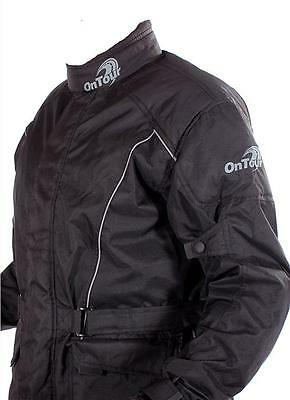 OnTour Motorcycle CE Armour Waterproof Textile Lined Bike-It Ride Jacket SALE