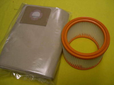 Set Filter + Staubbeutel Festo SR5E SR5 SR 200 201 202 203 E LE AS Sauger