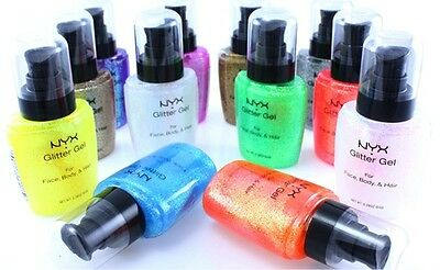 NYX Face and Body Glitter Gel *5 shades available*| UK SELLER*