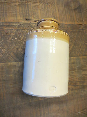 Vintage Antique Primitive Price T. Bristol Stoneware Jug / Crock