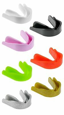 Single Gum Shield Mouth Guard Adult and Kids Various Colours Gum Shield