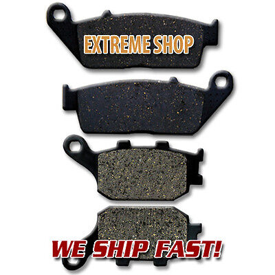 Honda F+R Brake Pads VT 1300 CXA CX10 Fury Chopper (Non ABS) 2010-2011-2012-2013