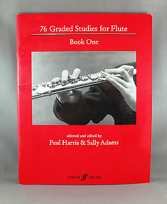 76 Graded Studies for Flute Book One (1-54) - Brand New