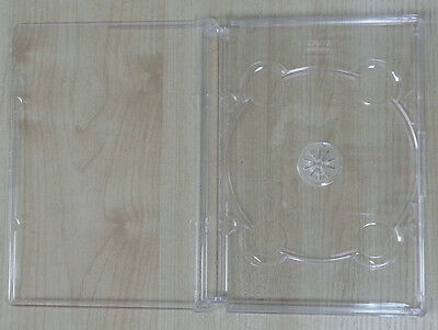 25 Super Jewel Box King Single Dvd Case Clear Sf11