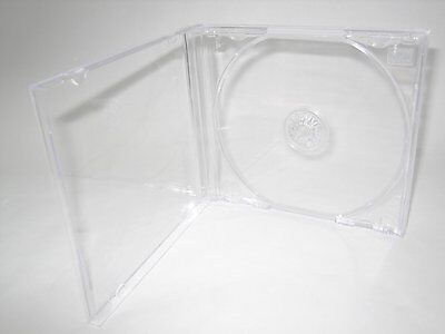 200 Standard Single Cd Jewel Case W/ Clear Tray Kc04Pk
