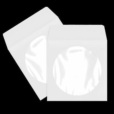 2000  Cd / Dvd Paper Sleeve With Window And Flap Psp10