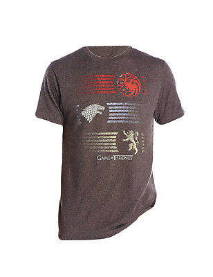 Game of Thrones 3 House Sigils T-Shirt