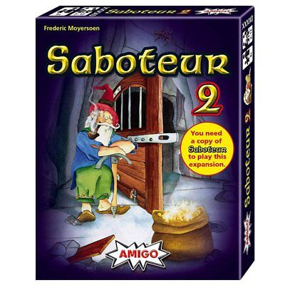 Saboteur 2 Card Game 2nd Version