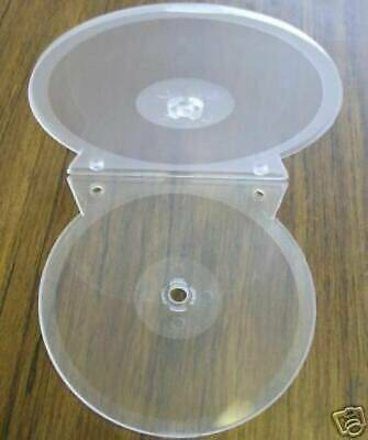 200 Double Binding Clear Cd/dvd Clamshell Cases   Sf18