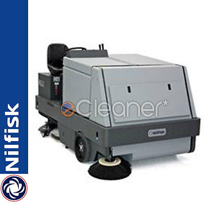Nilfisk Alto Cr1500 Ride-On Sweeper/scrubber