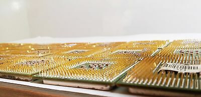 1LB Gold Scraps Recovery 24 CPU Chip Processors Gold Plated Pins / Legs 453g