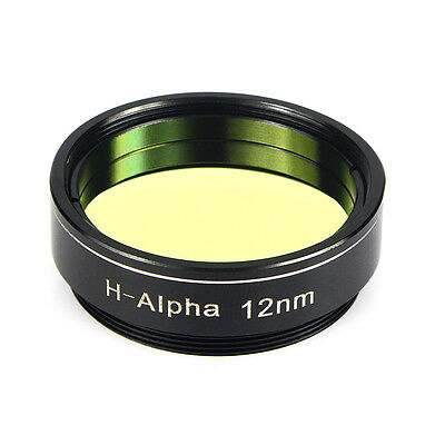 "Newest 1.25"" H-Alpha Narrow Band Filter 12nm for Telescope CCD Photography+Track"