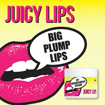 Juicy Lips Lip Plumping Cream Perfect Pout Kissable Lips No Fillers Or Injection