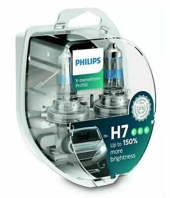 Lampade alogene PHILIPS X-TREME VISION H7 55W LUCE BIANCA TOP QUALITY