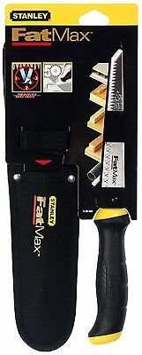 Stanley Fatmax Jab Saw Pad Saw And Scabbard, Plasterboard Saw 2-20-556