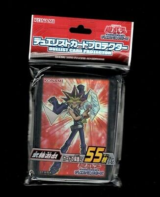 1 x Yugioh ARC-V OCG Duel Monsters Card Protector Sleeves - Muto Yugi - 55ct