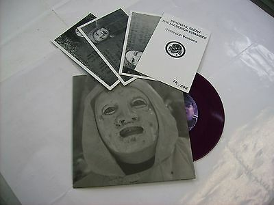 "Death In June - Peaceful Snow - 7"" Violet Vinyl New Numbered 2010 - Copy #779"