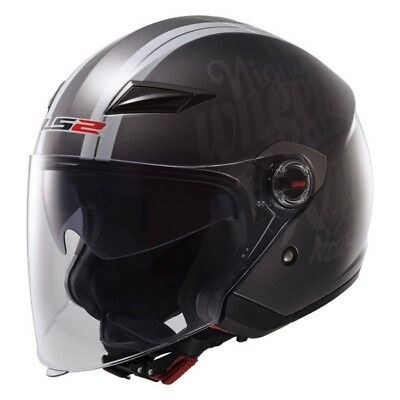 Party LS2 Track OF569 Open-Face Helmet  Part# 569-1114 L
