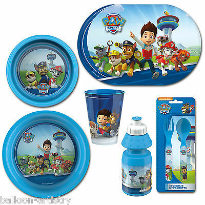 Paw Patrol Tableware Party Pack Range Items Children's Kid's Mealtime Set