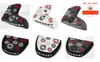 Original ODYSSEY Headcover WORKS  MALLET BLADE PUTTER HEAD COVER