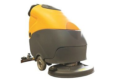XPS 2 Walk behind floor scrubber cleans concrete terrazzo tile stone floors