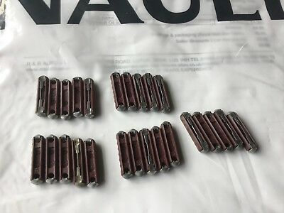 Renault Ceramic Continental fuses mixed 5,8.10,25 amp  qty 20