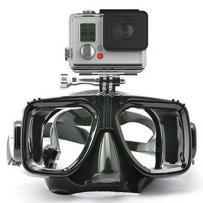 Compatible all GOPRO Swimming Scuba Dive Snorkelling Diving Mask MASQUE PLONGE