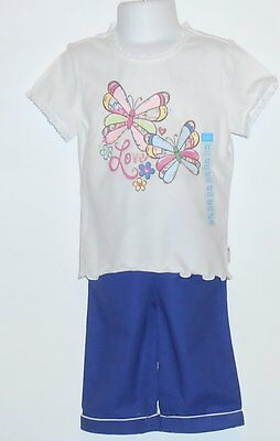 The Childrens Place Toddler Girls Capri Pants with Sash + Butterfly Top 4T NWT
