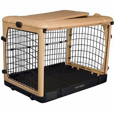 "Pet Gear The Other Door Tan Steel Dog  Crates in 27"",36"", and 42"" sizes"