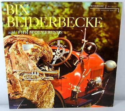 Bix Beiderbecke and the Wolverines  Vinyl LP Riverside RLP12-123