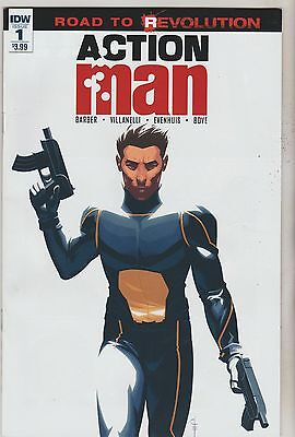 Idw Comics Action Man #1 June 2016 1St Print Nm