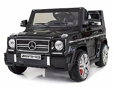 Licensed Mercedes-Benz G65 BLACK Kids Ride on Powered Car with Remote Control