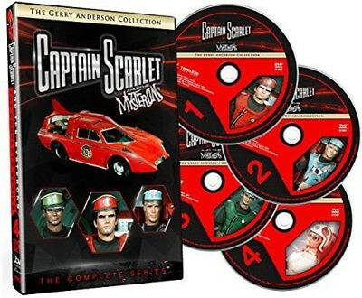 Captain Scarlet and the Mysterons: The Complete Series [New DVD] Boxed Set, Fu