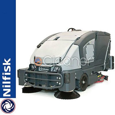 Nilfisk Cs7000 Combination Sweeper / Scrubber Sweeper Battery