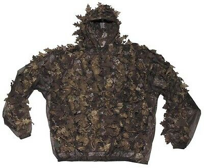 "MFH Tarnanzug ""Leaves"" Tarnkleidung Camo Camouflage Hunter Brown M/L-XL/XXL"