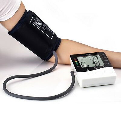 Fully Automatic Digital Upper Arm Blood Pressure Monitor With Large Cuff Medical