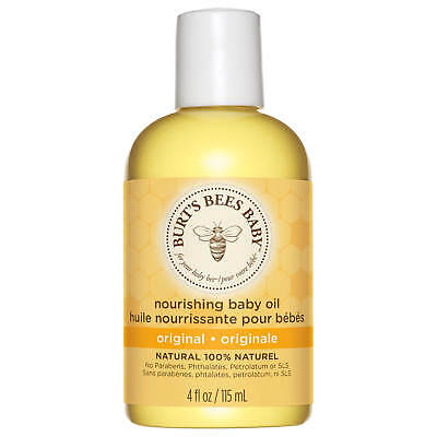 Burt's Bees Baby Bee Nourishing Baby Oil 118 ml 71211-14 Skin Care