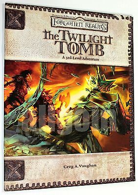 Dungeons & Dragons FORGOTTEN REALMS THE TWILIGHT TOMB 2006 WOTC D&D 3.5 d20