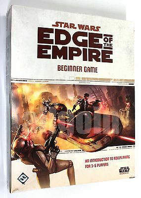 STAR WARS EDGE OF THE EMPIRE BEGINNER GAME Boxed Set 2012 Fantasy Flight SWE01