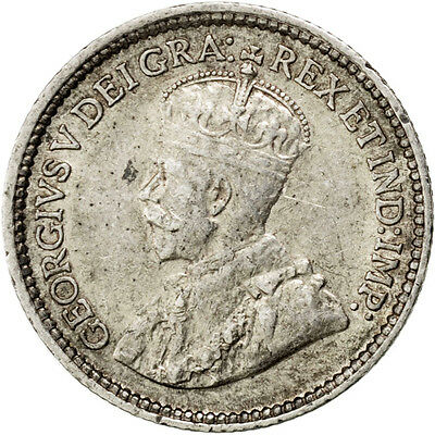 [#26938] CANADA, 5 Cents, 1914, Royal Canadian Mint, KM #22, AU(55-58), Silver