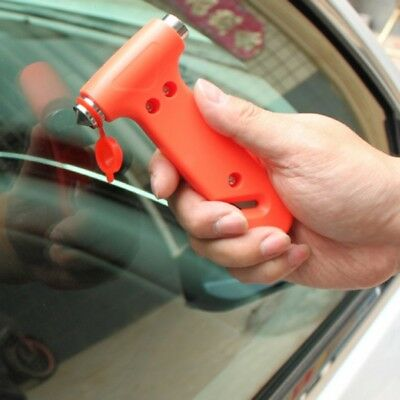 Safety Zon Tech Car Window Glass Seat Belt Hammer Cutter Tool Emergency Life