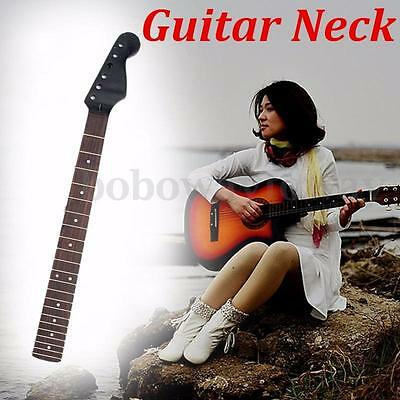 Electric Guitar Neck for Fender ST Part Replacement 22 Fret Maple Rosewood Black