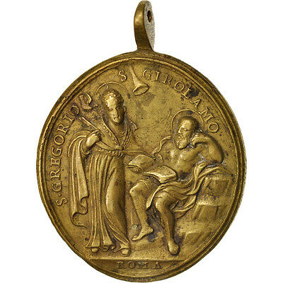 [#409751] Vatican, Medal, The Blessed Sacrament, Religions & beliefs, XVIIIth