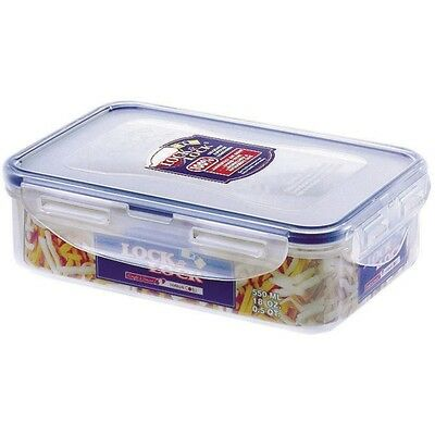 Lock & Lock Food Storage 550ml Rectangular Box HPL815