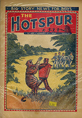 HOTSPUR COMIC No. 480-506 FULL YEAR from 1944 D. C. Thomson
