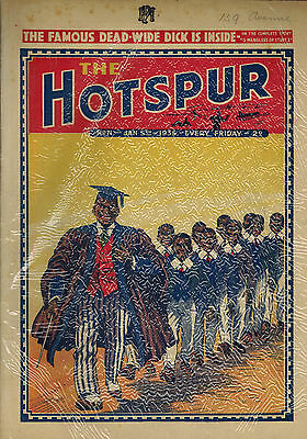HOTSPUR COMIC No. 71-93 - 23 issues from 1935 D. C. Thomson